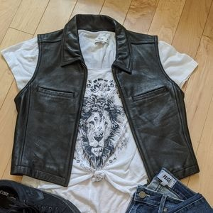 The Limited - Genuine Leather Vest